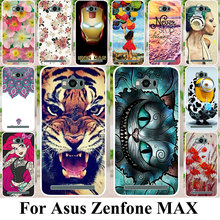 Silicon Plastic Phone Cases For ASUS Zenfone MAX Housing Bags ASUS_Z010DD Z010D ZC550KL Z010DA 5.5 inch Covers Anti-Scratch Bag