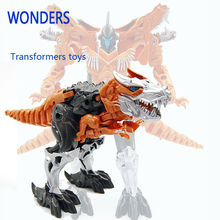 Transformation dinosaur Robots Transformable Toys for children&boys&Kids Action Figure dinosaur Toy Model(China)