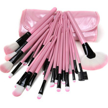 wholesale Excellent 200sets of 32pcs Professional Makeup Brush Set Cosmetic Brushes kit + Leather Case 32pcs Makeup Brushes set