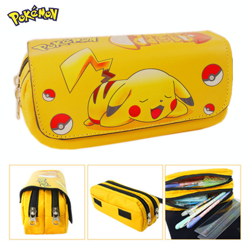 2016 Cartoon Pencil Pen Case Gravity Falls Totoro Dragon Ball Zelda Adventure Time Cosmetic Makeup Coin Pouch Zipper Bag<br><br>Aliexpress