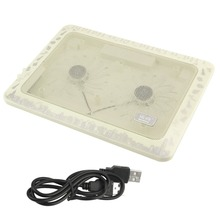 Universal M3 Change Color Design Notebook Cool Pad Adjustable Low Noise USB Cooler Pad Fan For Laptop Notebook