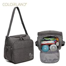 Colorland Baby Bag Mommy Travel Diaper Bag Organizer Diapers Maternity Bags For Mother Messenger Nappy Bags Bolsa Maternidade(China)