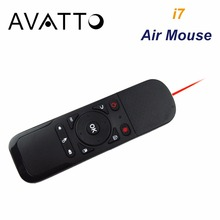 [AVATTO] i7 2.4GHz Wireless Air Fly Mouse with Laser 6 Axis Sensor Office Remote Control for Smart TV/Android Box/Laptop/Desktop