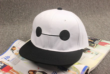 Fashion Hip-Hop Cartoon Sports Snapback Big Hero casquette Cotton girls boys Infant Child Baseball baby sun hat caps(China)