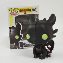 FUNKO POP Toothless How To Train Your Dragon 2 Movies Action Vinyl figure Model Animation Collection toys For Christams Gift