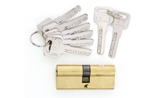 Free shipping!! Durable Single Row  AB Kaba Euro Cylinder lock for timber or Aluminium Door