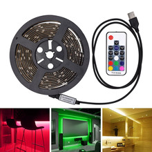 WIXURE TV/PC Backlight Kit, USB Flexible RGB LED Light Strip Multicolor Background Smartphone APP Android IOS Music Alexa Google(China)