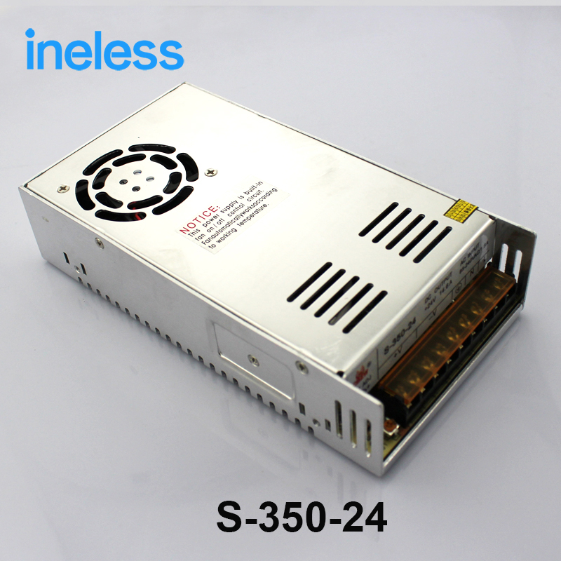 S-350-24high quality Single Output Switching power supply power suply unit 350W 24V 14.5A ac to dc power supply ac dc converter <br>