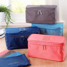 6 Colors Bra Travel Organizer Storage Bag Luggage Suitcase Pouch Zip Cases Clothes Bra Cosmetic Underwear Organizer