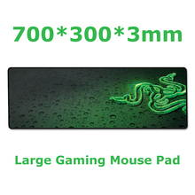 Razer 700*300*3mm professional large gaming mousepad Speed version Mouse mat keyboard pad for desktop and laptop computer