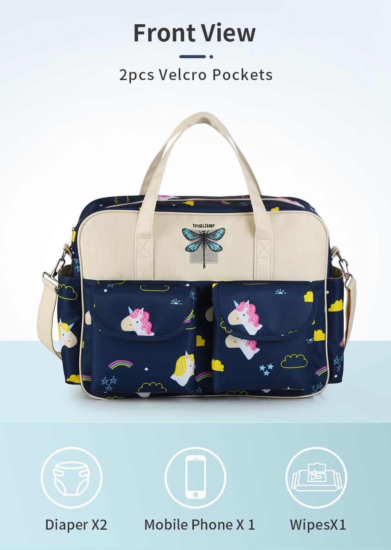 Waterproof Multifunctional Diaper Bag 6