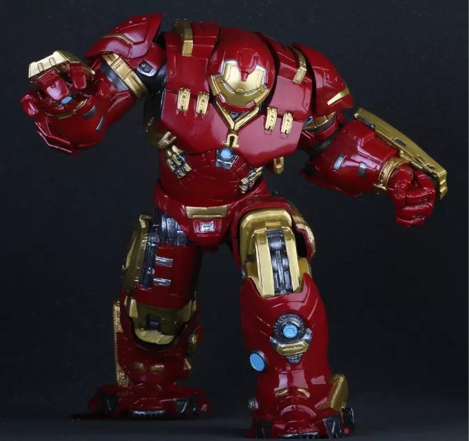 Crazy Toys Marvel Avengers Hulkbuster 25cm Ironman Super Hero PVC Action Figure Collectible Model Toys<br>