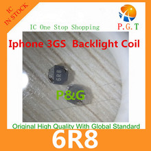 Free shipping best price for iphone 3GS  Inductor boost 6R8 replacement parts