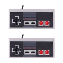 2 Pcs USB Controller Gaming Gamer JoyStick Joypad For NES Windows PC for MAC Computer Game Controller Gamepad