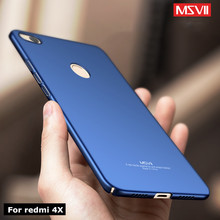 Buy Xiaomi redmi 4x Case MSVII luxury Xaomi redmi 4X pro prime global case Silm Silicone scrub Coque cover xiomi 4xphone case for $3.99 in AliExpress store