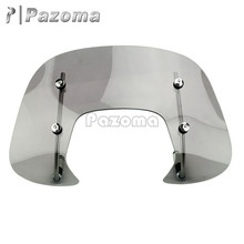 New Motorcycles Motorbike Smoke Windshield Wind Deflector for Vespa Sprint Medium-Size Fly-Screen