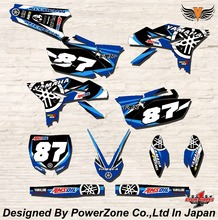 WR YZ YZF 125 250 400 450  Team Graphics Backgrounds Decals Stickers FX Motor cross Motorcycle Dirt Bike MX Racing Parts