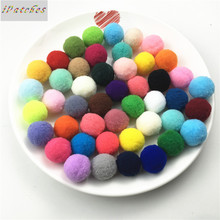 Buy 100pcs/lot 25mm Colourful Elastic Pompom Clothing,Children Toy,Wedding Crafts Soft Pom poms Balls DIY Decoration Accessories for $2.62 in AliExpress store
