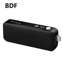 BDF Mini Portable Speaker NBY-1010 Wireless Stereo 3D Sound Box Music Player Active Speaker Hands-free TF USB Bluetooth Speaker(China)