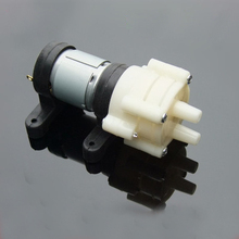 R385/385 DC 12V/6V Circulation Pump Diaphragm pump water cooled laptop Small miniature water oil pump(China)