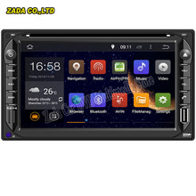 NAVITOPIA 6.2inch Android 5.1/Android 6.0 Octa Core 2GB RAM Car Radio GPS 2 din universal DVD player Stereo 3G WIFI Bluetooth