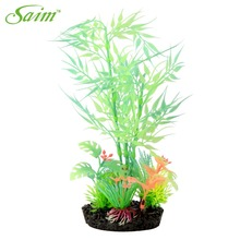 Glow In The Dark Artificial Bamboo Decorative Aquarium Ornament Fish Tank Decoration Background Accessories Supplies