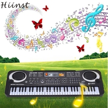 HIINST Best seller drop ship New 6 Keys Digital Music Electronic Keyboard Key Board Gift Electric Piano Gift S25
