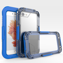 10M Waterproof Case for iPhone 6 Case Swimming Diving Cover Acrylic Clear Shockproof Housing Capa for iPhone 6s 6 Plus Phone Bag