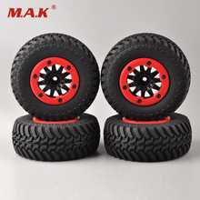 4 Pcs/Set 1/10 Bead Lock Short Course Tyres 12mm Hex for 1/10 RC Car Parts & Accessories(China)