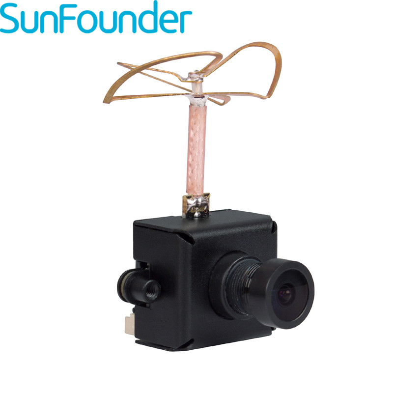 SunFounder EF-01 FPV Micro AIO Camera 40CH Transmitter Combo for Blade Inductrix Indoor FPV Racing Quadcopter Drone<br>
