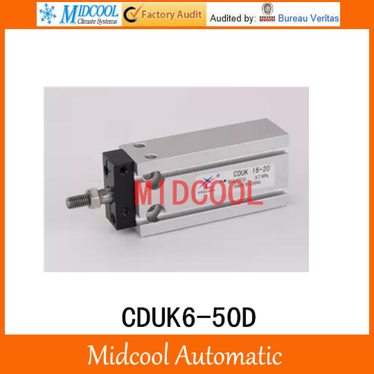 Multi-position free installation of the cylinder CDUK6-50D bore 6mm stroke 50mm<br>