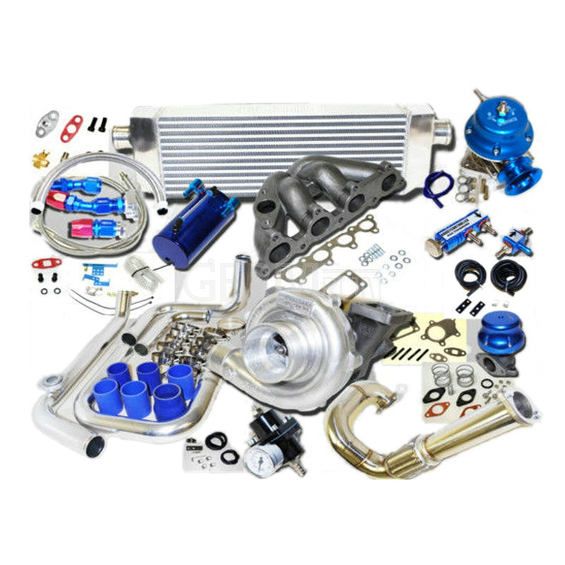 Honda Civic Complete Turbo Kits D Series EXSi 1.6L SOHC VTEC I-4 125HP D16Z6_1