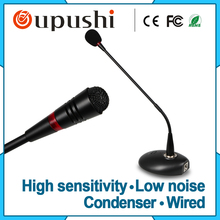 Best wired skype meeting mic capacitor type conference microphone system