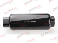AN -10 AN10 Black Anodised Billet Magnetic High Flow Fuel Filter 100 Micron(China)