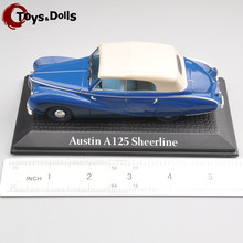 1/43 NOREV Austin A125 Sheerline 1:43 Scale Model Mini Fashion Blue Diecast Car for Adult Collectors Kids Toys(China)