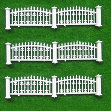 1Meter long model fence villa hedge construction sand table model material outdoor landscape garden railings(China)