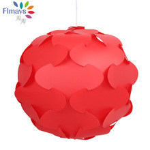 480MM Petal Flower Tree Modern Contemporary DIY Elements IQ Jigsaw Puzzle ZE Lamp Shade Ceiling Pendant Lamp Ball Light Lighting