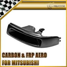 Car Styling For Mitsubishi Evolution EVO 5 6 Carbon Fiber Vented Headlight Air Duct LHS