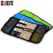 BUBM  digital receiving bag role style spring rolls folding carry case 4 size more color Portable Travel Organizer camouflage