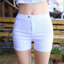 discount 2017 new summer Fashion casual tight sexy Elasticity Stretch super cheap female women girls shorts clothing clothes(China)