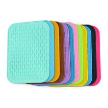 Silicone Pot Holder trivet Mat jar Opener, spoon Rest Garlic Peeler, Non Slip, durable, dishwasher Safe, heat Resistant Hot Pads