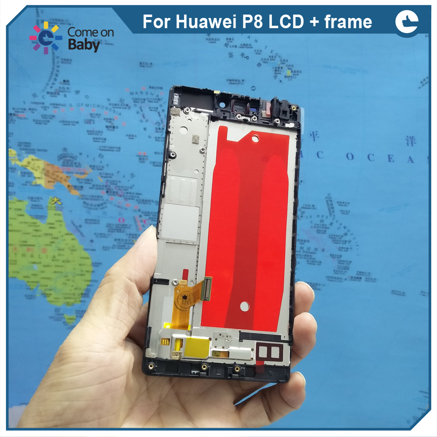 For Huawei P8 LCD + frame