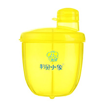 Buy Portable 3 Grids Infant Feeding Milk Powder Container Newborn Baby Food Seal Pot Snacks Dry Fruits Cookies Storage Box B for $4.13 in AliExpress store