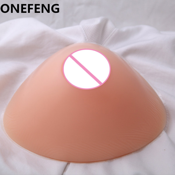 ONEFENG Sexy Silicone Man False Breast Realistic Artificial Triangle Shape Boobs Crossdresser Who Love Big Chesrt 1800g/pair<br><br>Aliexpress
