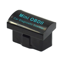 New Released Super Mini ELM327 Bluetooth OBD Scan Tool Code Reader V2.1 Blue/black Woks on Android & PC(China)