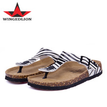 CoolFar women shoes 2017 new style cork sandal best quality and hot sale women sandals soft ,comfortable flip flops free ship