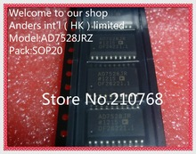 Hot stock AD7528JRZ AD7528JR AD7528 SOP20(China)