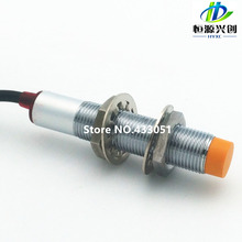 M12 LJ12A3-4-Z/BX 4mm sensing DC NPN NO prism shape inductive Screen shield type proximity switch LJ12A3 series proximity sensor