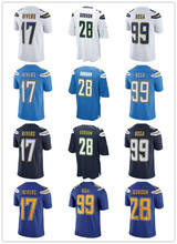 Men's Joey Bosa Melvin Gordon Philip Rivers Limited Player Jersey(China)