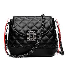 Budalaa Women Bags New Fashion Shoulder Bag Black Cute PU Leather with Chains Totes Women Girls Formal Small